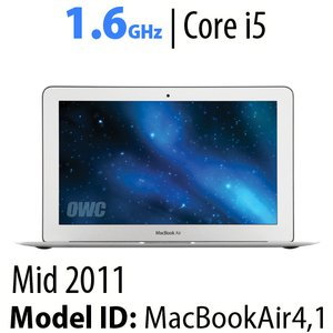 "Apple 11"" MacBook Air (2011) 1.6GHz Core i5: Thunderbolt, 4GB RAM, 64GB SSD. Used."