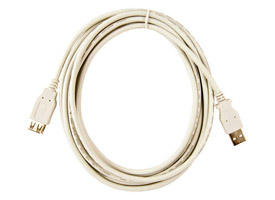 Micro Accessories USB Extension Cable 10 feet