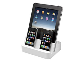 PhotoFast iPADock Multiple iDevice Dock with USB Hub