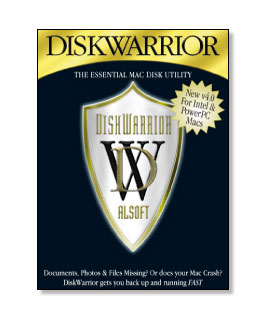 Alsoft DiskWarrior 4.4 for Mac