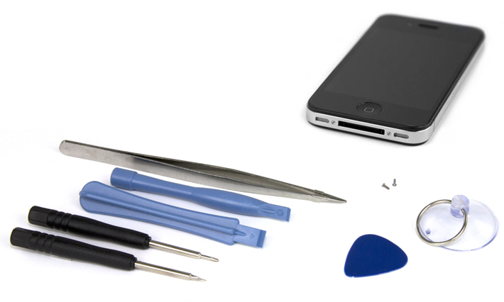 7 Piece Toolkit for iPhone 4/4S
