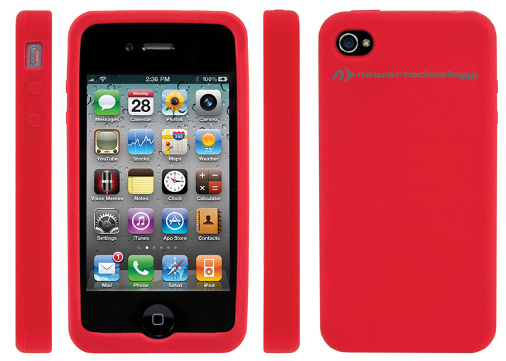 Iphone  Red Silicone Case