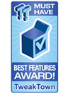 TweakTown Best Features Award