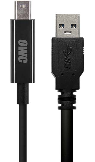 Thunderbolt and USB 3.0 Cables
