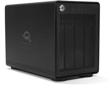 OWC ThunderBay 4 with Thunderbolt 2
