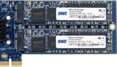 OWC Accelsior E2 SSD blades