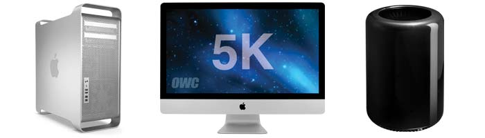 iMac 5K and Mac Pro Shootout
