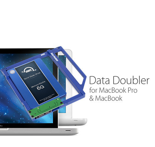 OWC Data Doubler - Replace Mac Optical Drive with an SSD