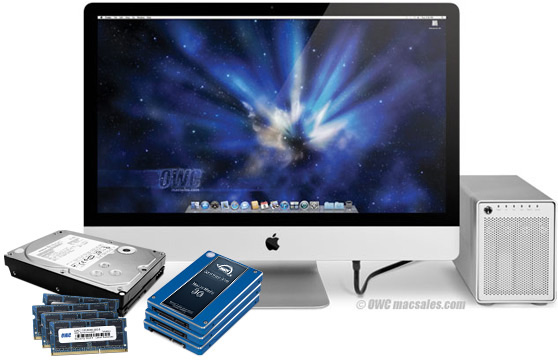 OWC iMac 2011 Upgrade Program