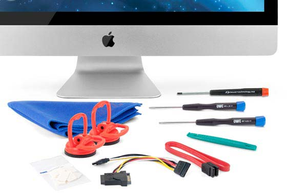 SSD Upgrade Kit for 27-inch 2010 iMac
