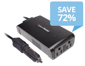 CyberPower 200W Mobile Power Inverter