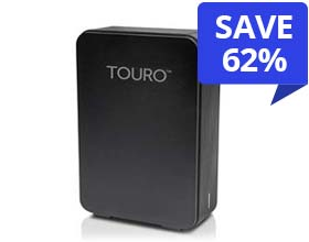 4.0TB HGST Touro Desk DX3 Desktop Drive