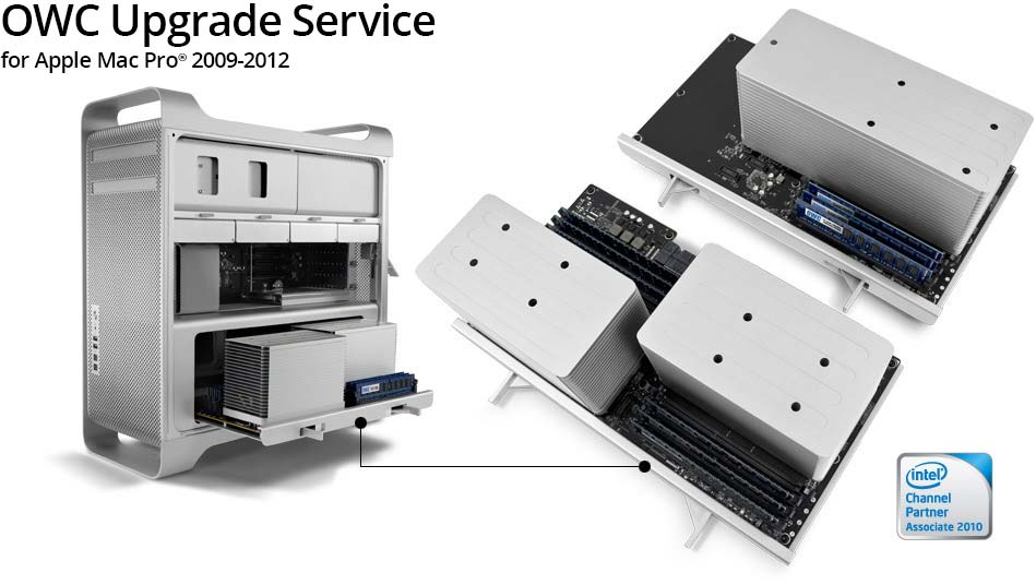 OWC Turnkey Upgrade Program for Apple Mac Pro 2009 - 2012