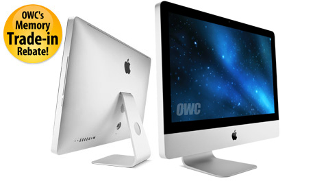 iMac® Intel® Core™ 2 Duo, Intel Core i5, Intel Core i7