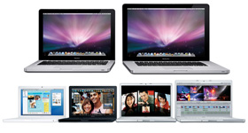 MacBook and MacBook Pro Models