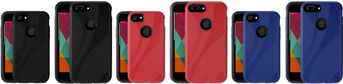 KX cases for iPhone 7 and iPhone 7 Plus