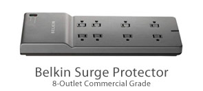 Belkin 8-Outlet Commercial Surge Protector