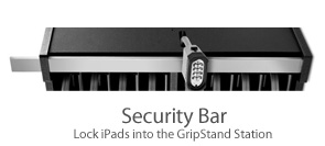 NewerTechnology Security Bar for GripStand Station