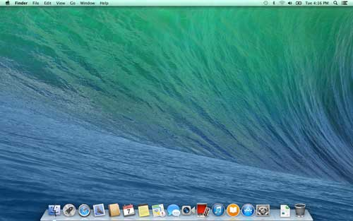 Look and Feel of Mavericks