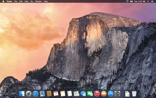 Yosemite Dark Mode