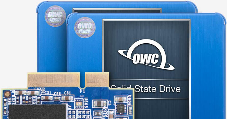 OWC SSD Product Images for Mac Pro