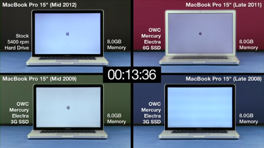 SSD vs HDD performance shoot-outs