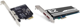Thunderbolt aware/compatible PCIe Cards