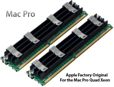 Apple Original 4GB 2GBx2 PC6400 DDR2 ECC 800MHz 240 Pin FB DIMMs