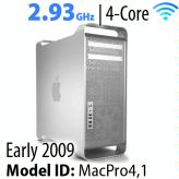 Apple Mac Pro 2009 'Nehalem<BR>2.93GHz 4-Core w/HD+SSD