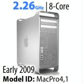 Apple Mac Pro 2009 'Nehalem<BR>2.26GHz 8-Core