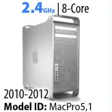 Apple Mac Pro 2010-2012<BR>2.4GHz 8-Core