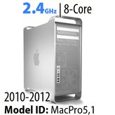 Apple Mac Pro 2010-2012<BR>2.4GHz 12-Core