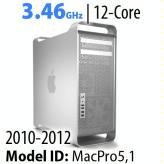 Apple Mac Pro 2010-2012<BR>3.46GHz 12-Core