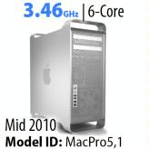 Apple Mac Pro 2010-2012<BR>3.46GHz 6-Core