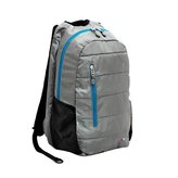 J World New York Collis Laptop Backpack - Silver