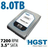 8.0TB HGST UltraStar HE8<BR>7200RPM Enterprise SATA 6G