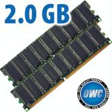 2.0GB Kit PC3200 DDR 184 Pin DIMMs
