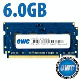 6GB Kit (2GB + 4GB) PC2-5300 DDR2 667MHz Memory Kit