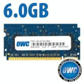 6GB (2GB + 4GB) PC2-6400 DDR2 800MHz Memory Kit