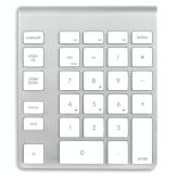 NewerTech Wireless Keypad - White Keys - US Layout