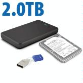 2.0TB Upgrade Kit  for Sony PlayStation 4