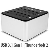 OWC Dual Drive Dock with ThunderBolt 2 & USB 3