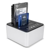"OWC USB 3 Dual Drive Dock for 2.5"" and 3.5"" SSDs & HDDs"