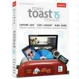 Roxio Toast 15 Titanium<BR>With Blu-ray Video Authoring