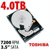 "4.0TB Toshiba MG03ACA Series 3.5"" 7200RPM HDD"