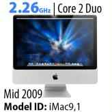 "Apple iMac 20"" Core 2 Duo<BR>2.26Ghz"