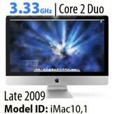 "Apple iMac 27"" Core 2 Duo<BR>3.33GHz"