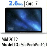 15-Inch MacBook Pro Quad i7<BR>2.6GHz with Retina Display