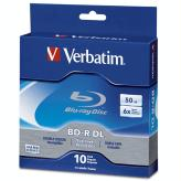 Verbatim 50GB BD-R 6X Media 10 Pack