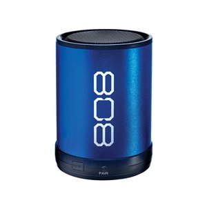 808 Audio CANZ Wireless Bluetooth Speaker with built-in 6hr rechargeable battery - Blue